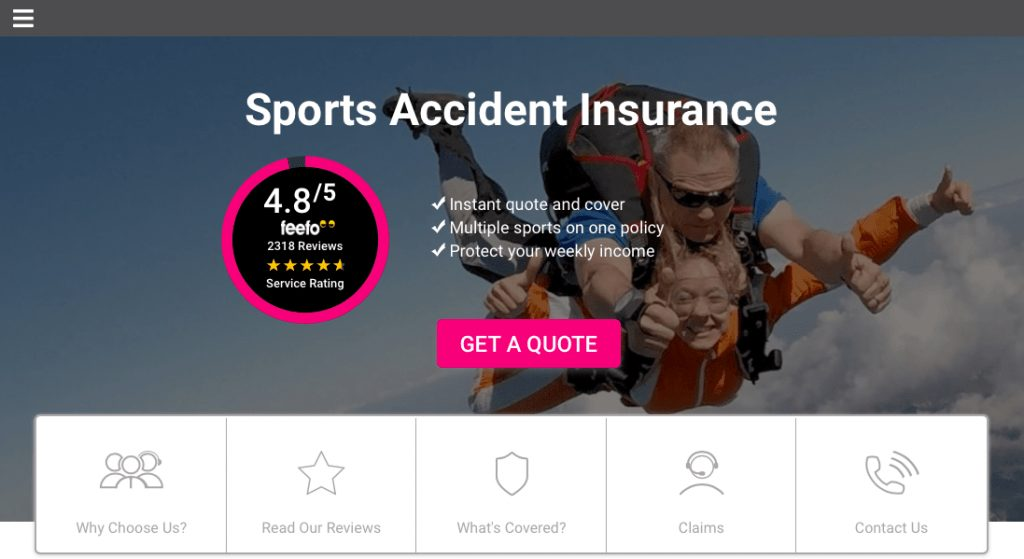 Personal Activity Insurance