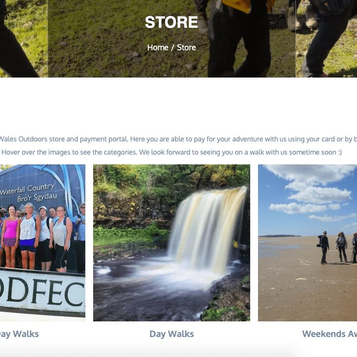 Wales Outdoors Store