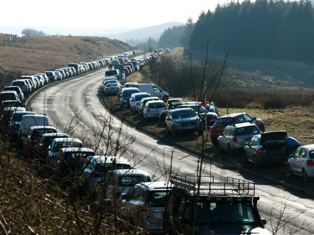 Management Of Parking Locations In The Brecon Beacons